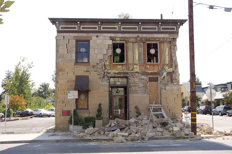 Napa Valley Earthquake - The Force